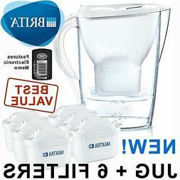 BRITA Marella Cool MAXTRA+ Plus 2.4L Water Filter Jug + 6 Mo