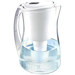 Brita Marina Water Filter Pitcher, White, 8 Cup, 1 ea