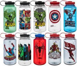 Nalgene Marvel Avengers 32oz Wide Mouth Tritan Water Bottle
