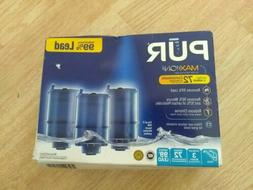 PUR Maxion Faucet Mount Water Replacement Filter 3pk /1 Box