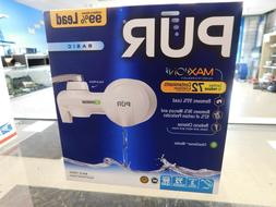 PUR Maxion PFM150W White Basic Faucet Mount Water Filtration