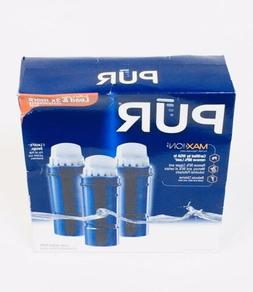 PUR Maxion Replacement Pitcher Filter 3pk Clean Water Lead F