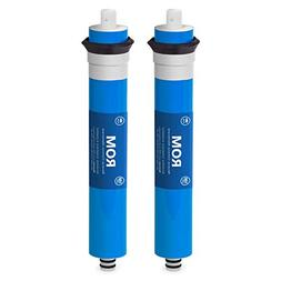 2 Pack Express Water 100 GPD Membrane Reverse Osmosis Univer