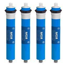 4 Pack Express Water 100 GPD Membrane Reverse Osmosis Univer