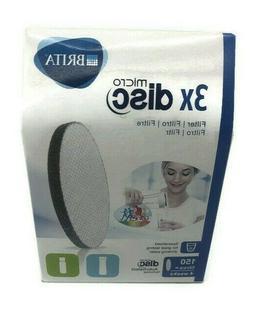 Brita Micro Disc Water Filter 3 Pack - Free Post
