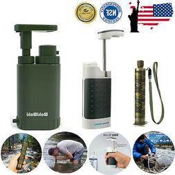 Military Emergency Water Filter Purifier Filtration Camping