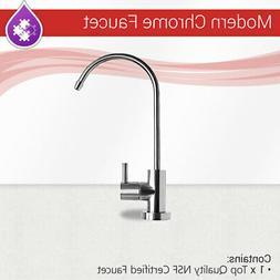 Max Water Modern Chrome RO LEAD FREE NSF RO water filter fau