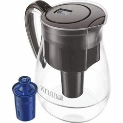 Brita Monterey 10 Cup BPA Free Water Pitcher with 1 Longlast