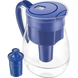 Brita Monterey Pitcher BLUE W/Longlast filter 10 Cup. NIB