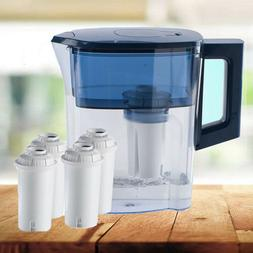 MS® 2.5L Water Filter Pitcher + 5 Filters Drinking Water Pu