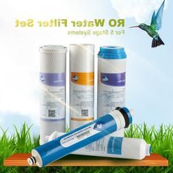 MS® Complete 5 Stage Home Drinking Water Filter Set 150GPD