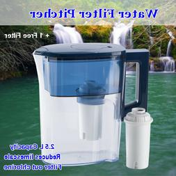 MS® Water Pitcher 2.5L Removes Lead, Fluoride &Chlorine wit