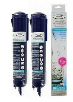 New 2PACK Whirlpool 4396841 4396710 EDR3RXD1 Replacement Wat