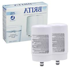 NEW Brita Tap Water Faucet Filter Replacement, 2 Count - Whi