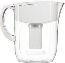 New White Brita 10 Cup Everyday BPA Free Water Pitcher with