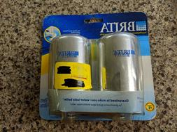 Brita On-Tap Faucet Water Filter Replacements, Chrome, 2 Cou