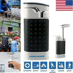 Outdoor Military Emergency Water Filter Purifier Survival Pu