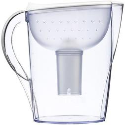Brita Pacifica Water Filter Pitcher, White, 10 Cup
