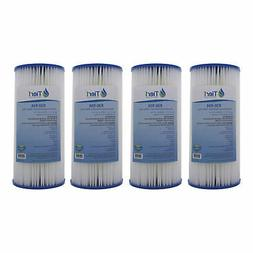 Tier1 R30-BB 30 Micron 10 x 4.5 Pleated Polyester Sediment P