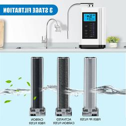 PH3.5-10.5 Water Ionizer & Purifier Machine LCD Touch Contro