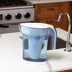 ZeroWater 6 Cup Pitcher with Free TDS Light-Up Indicator  -