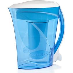 ZeroWater 8-Cup Pitcher with Free TDS Light-Up Indicator  ZD