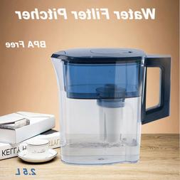 Pitcher Filter Kettle with Cartridge Tap Water Filter Purifi
