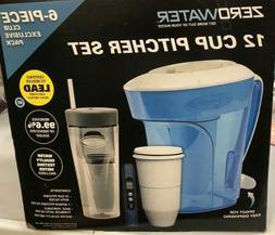 Zero Water 12 Cup Pitcher Set