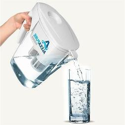 Alexapure Pitcher Water Filter Filtration System, BPA Free 8