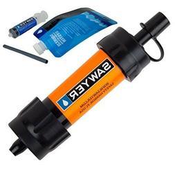 Portable Water Filter Mini Filtration System Adventure Survi
