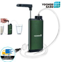 Portable Water Filter Mini Water Purifier Wild Survival Emer