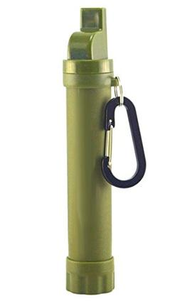 Portable Water Filter Personal Purifier Straw Filtration for
