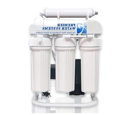 PREMIER REVERSE OSMOSIS WATER SYSTEM 200 GPD WITH BOOSTER PU