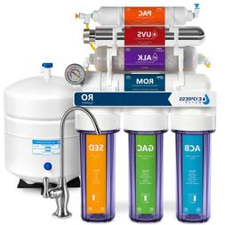 Premium Under Sink Reverse Osmosis Water Filter - 11 Stage F