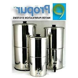 ProPur Pitcher Water Filters Traveler Stainless Steel Purifi