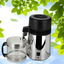 Pure Water Distiller Water Purifier 1 Gallon/ 4L Countertop