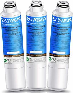 3 Pack Refrigerator water filter Replacement for Samsung Aqu