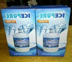 ICEPURE Refrigerator Water Filters 2 Pack RFC1600A New in Op