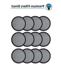 Premium Replacement Charcoal Water Filter Disks for Mr. Coff