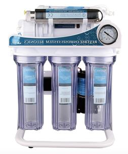 Reverse Osmosis Ultraviolet Water Filter System UV Sterilize