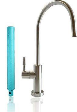RO Faucet Large Euro Design NSF 100% Lead Free Brushed Nicke
