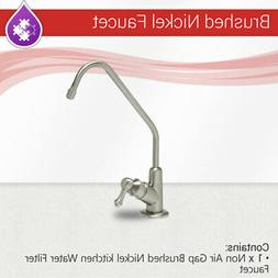 Max Water RO Non Air Gap Brushed Nickel Finished kitchen Wat