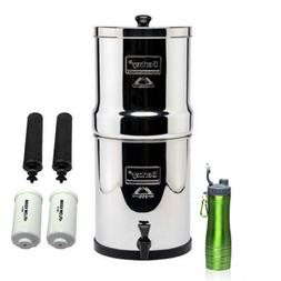 Royal Berkey Stainless Steel Water Filtration System w/ 2 Bl