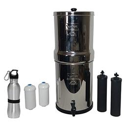 Royal Berkey Water Filter 3 Gallon System Bundle: 2 Black BB