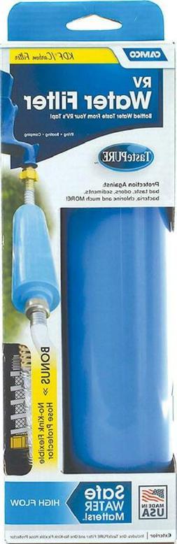 Rv Fresh Water Filter Flexible Hose Purifier Camper Travel T