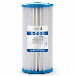 Sediment Pleated Water Filter City or Well Water, Washable 4