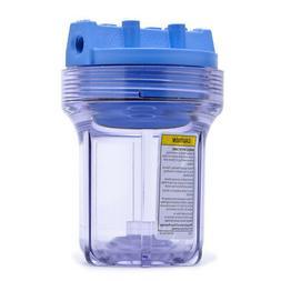 Pentek SLIM-CLEAR-14-WPR5 Whole House Slim 5 inch Filter Hou