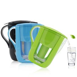 Small 5 Cup Capacity Water Filtration System Filter Pitcher