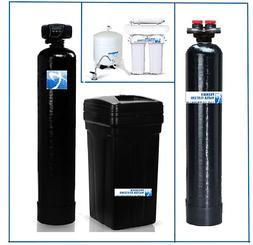 Whole House Water Package: Softener + Carbon Filtration + RO
