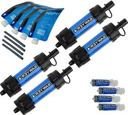 Sawyer Products SP123 Mini Water Filtration System, 4-Pack,